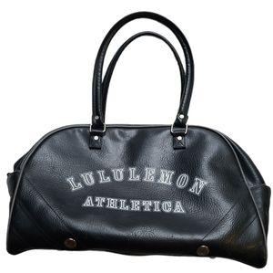 Lululemon black bowler bag